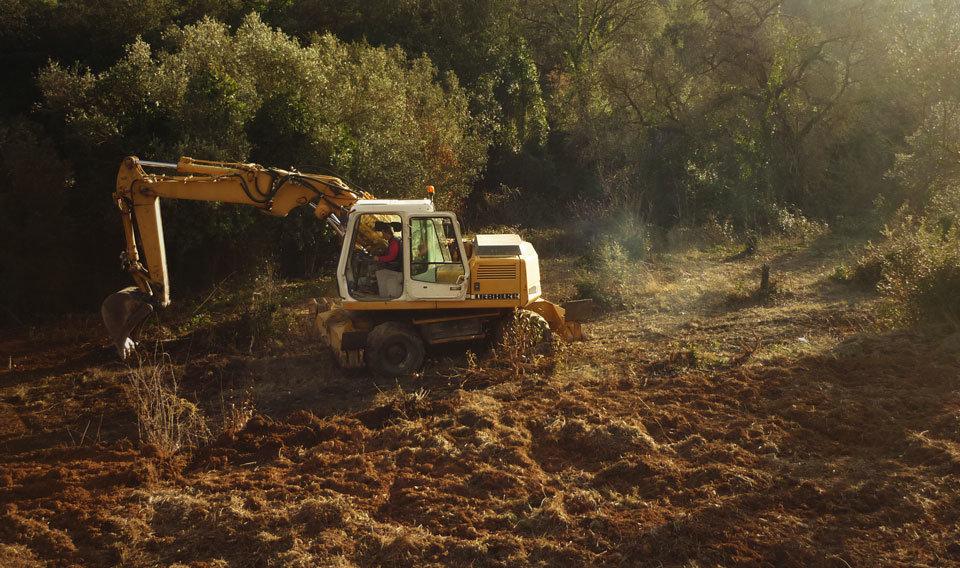 Recuperant terrenys de la finca de Can Monmany, per apropar l'agricultura ecològica als veïns de Sant Cugat del Vallès i Valldoreix